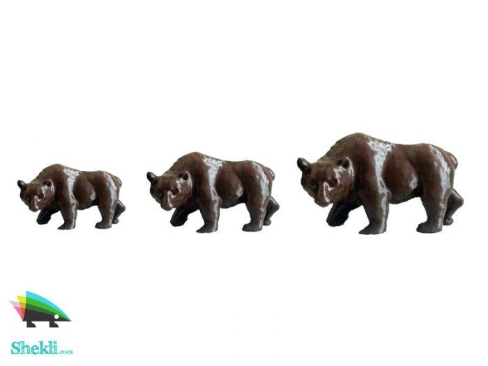خرید مجسمه خرس دکوری