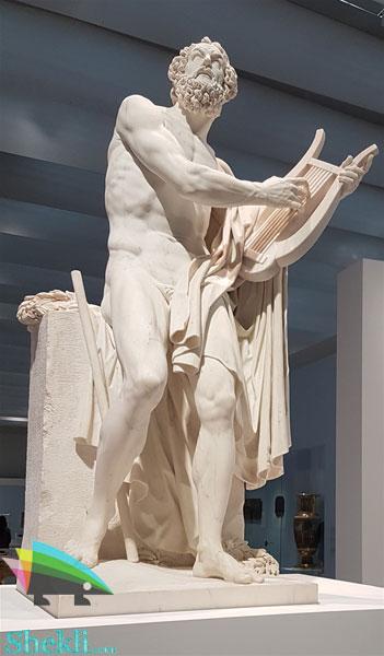 مجسمه-هومر-موزه-لوور