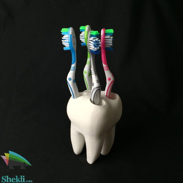 خرید جای مسواک طرح دندان