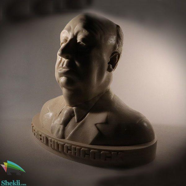 مجسمه آلفرد هیچکاک