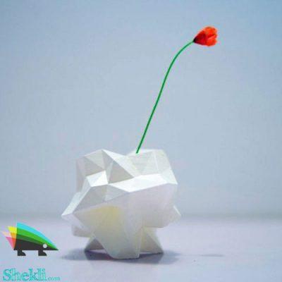 گلدان هندسی
