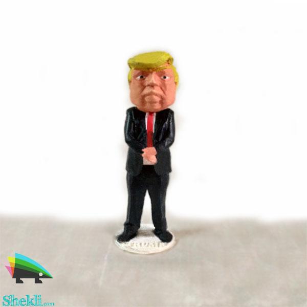 مجسمه دونالد ترامپ