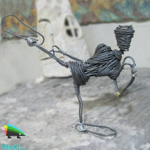 مجسمه رزمی کار سیم مفتول