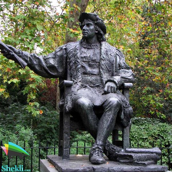 مجسمه کریستف کلمب لندن