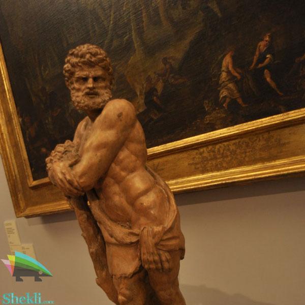 مجسمه هرکول اسطوره یونان باستان
