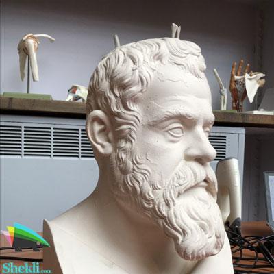 مجسمه گالیله موزه