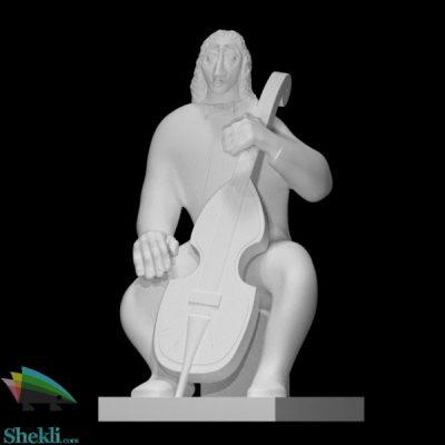 مجسمه نوازنده ویلن سل