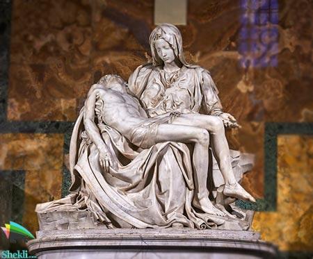 مجسمه پیتا میکلانژ
