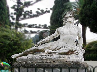 مجسمه آشیل یونان