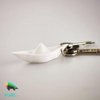 دسته کلید قایق کاغذی