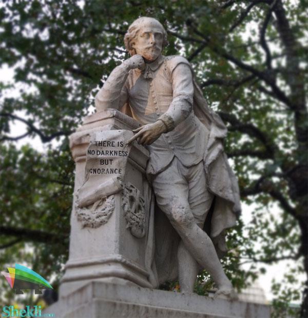 مجسمه ویلیام شکسپیر لندن