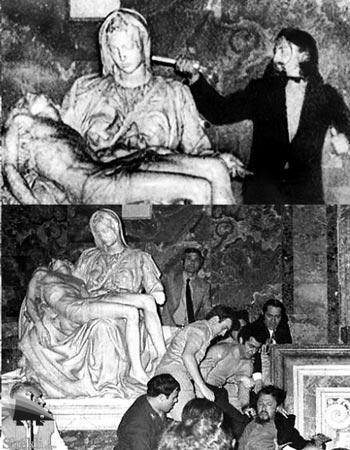 مجسمه مسیح میکلانژ