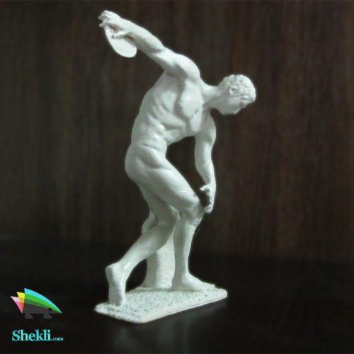 مجسمه دیسک انداز