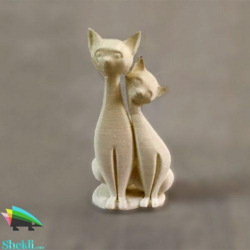 مجسمه گربه ها