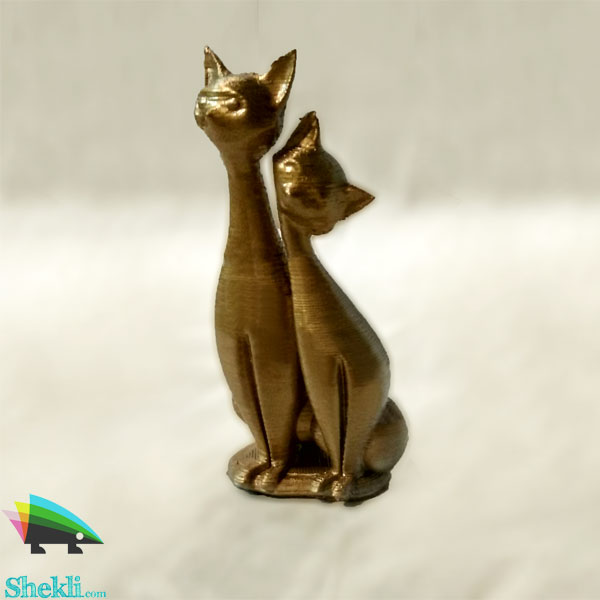 مجسمه گربه دکوری