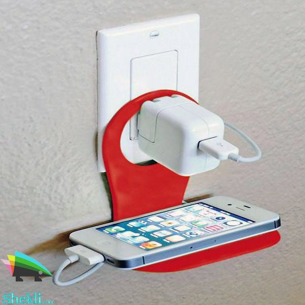 نگهدارنده شارژر موبایل