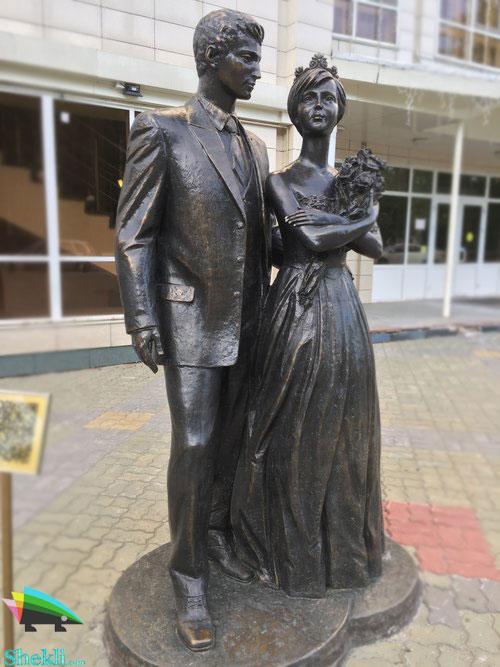 مجسمه زوج