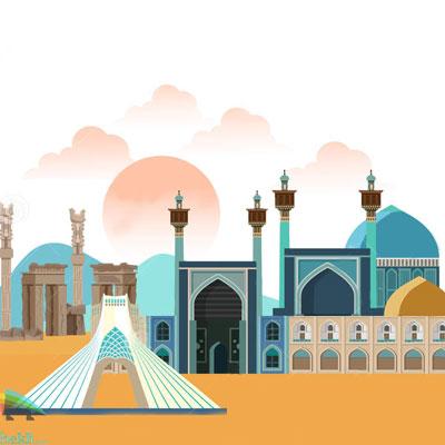 ماکت توریستی ایران شکلی