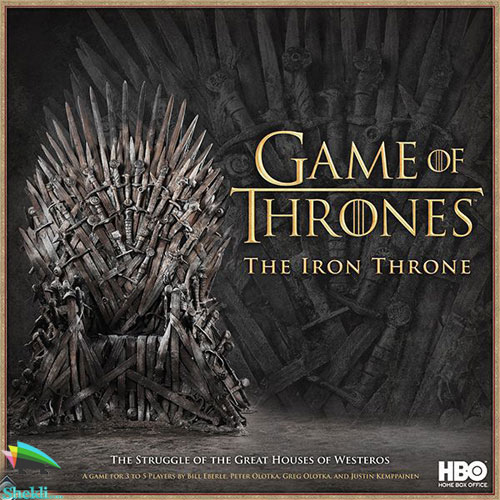 تخت آهنین سریال Game of thrones