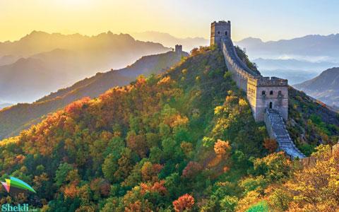 بازدید دیوار چین گردشگری